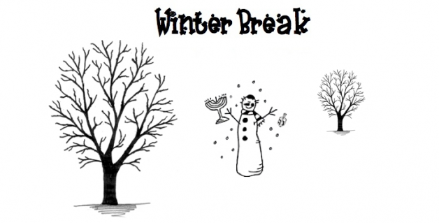 Welcome back from Winter Break  We hope you all enjoyed the extra