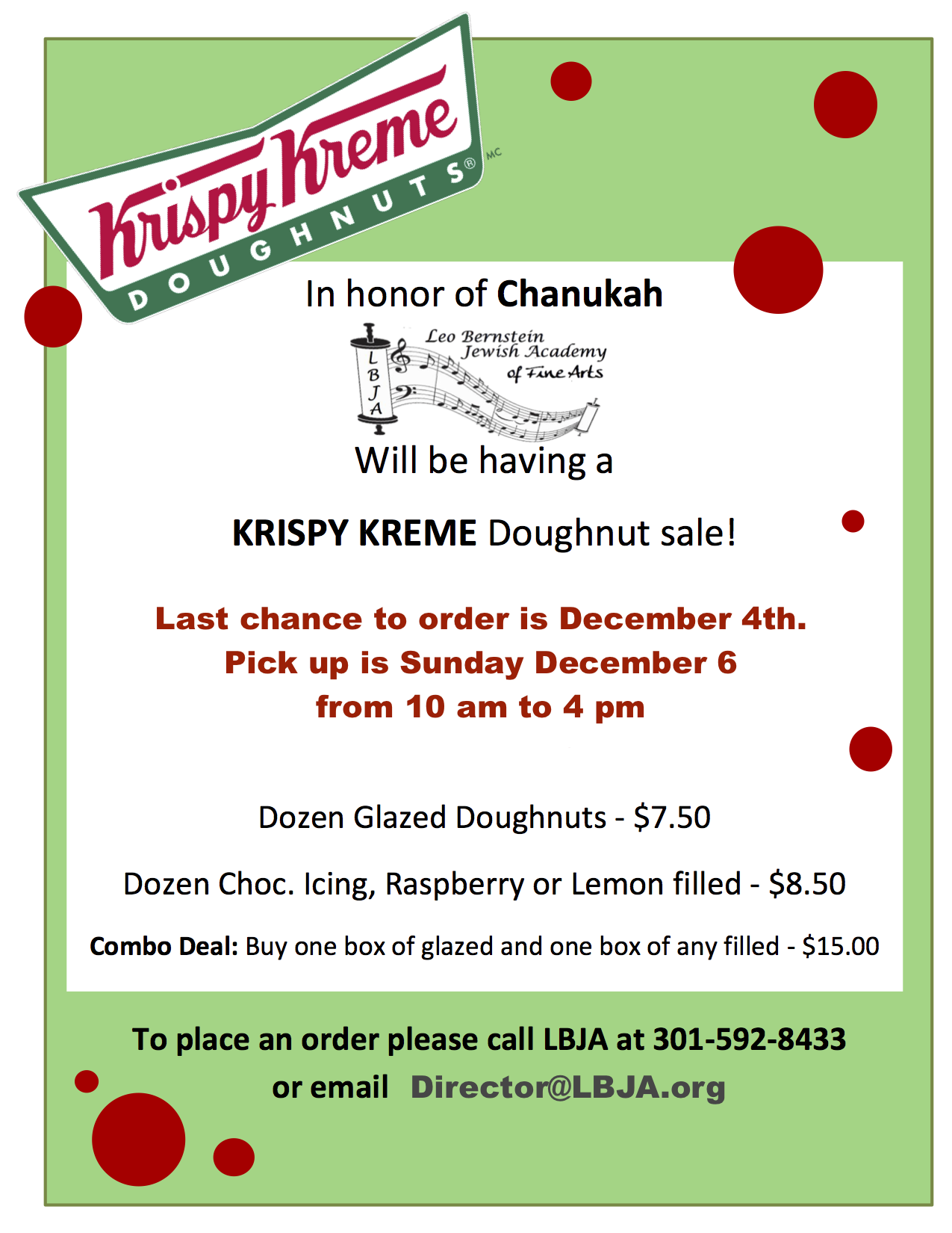 Krispy Kreme Flyer 2016