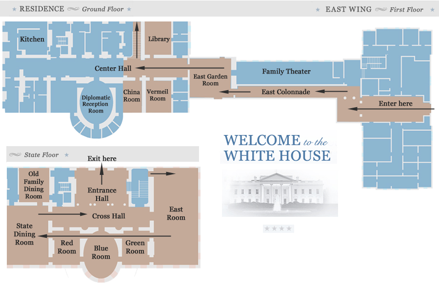 white-house-tour-map